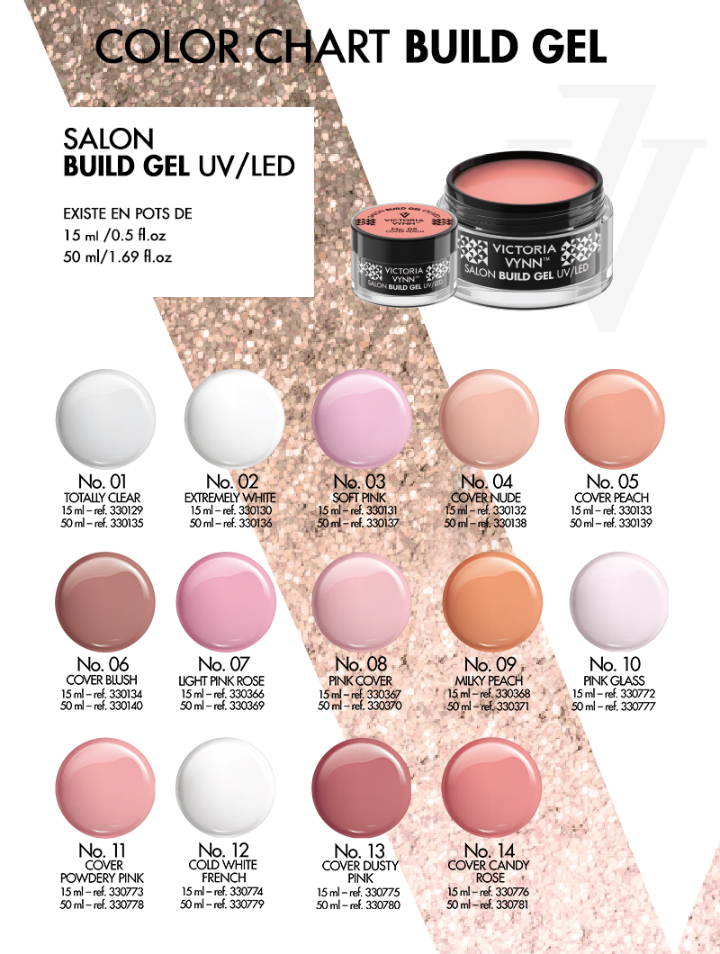 Nuancier Builder Gel UV/LED Victoria Vynn