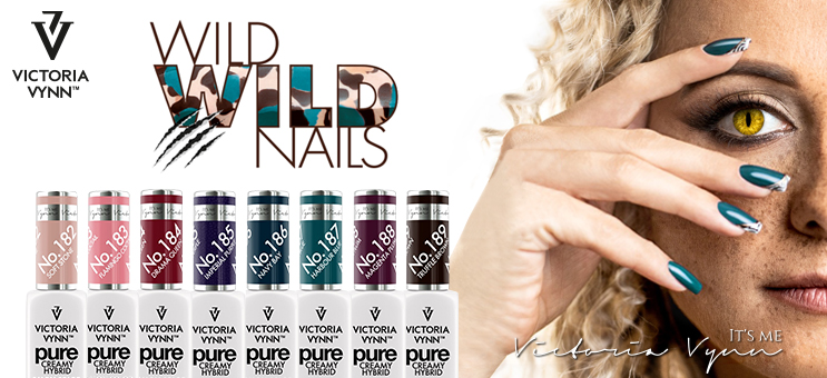 Nouvelle Collection Pure Creamy ! Wild Wild Nails !