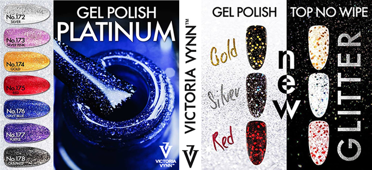 Gel Polish Shimmer Collection Victoria Vynn