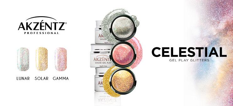 Akzentz Collection Gel Play Celestial Gamma, Lunar & Solar