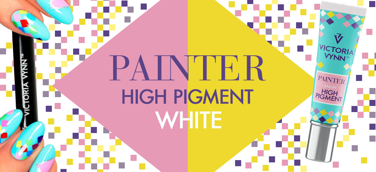 Back In Stock ! Painter High Pigment White Victoria Vynn