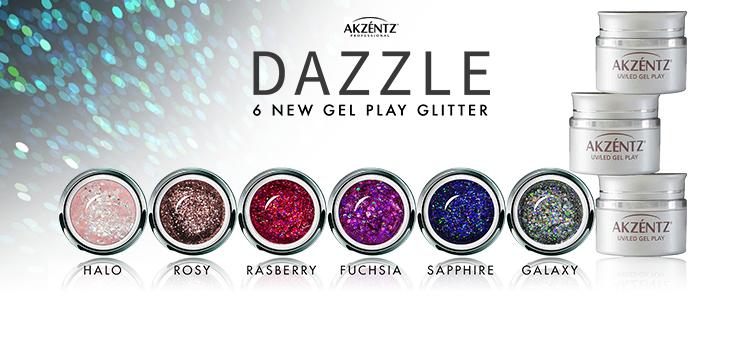 Nouveaux Gel Play Glitter !