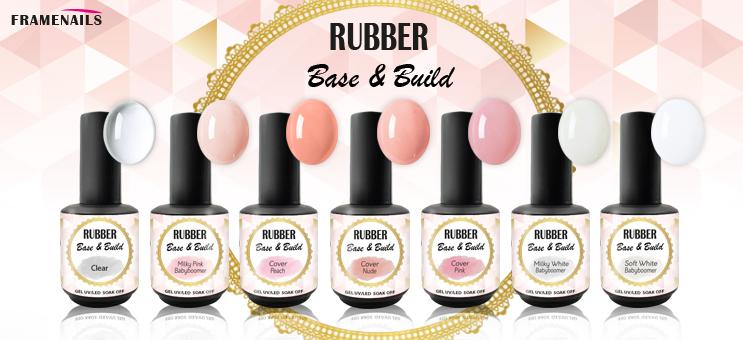 Rubber base ! Nouveau Gel Framenails !