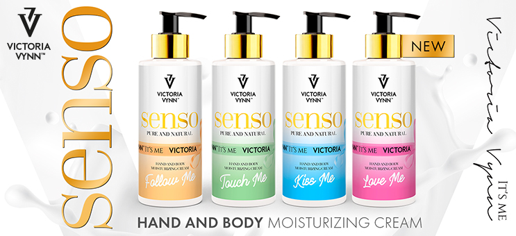 Nouveau ! Senso ! Crème hydratante mains et corps ! Victoria Vynn !